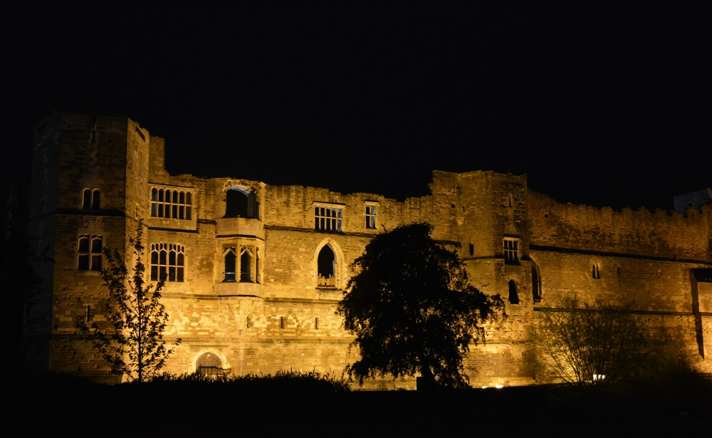 Castle by night Image Paul Lindus