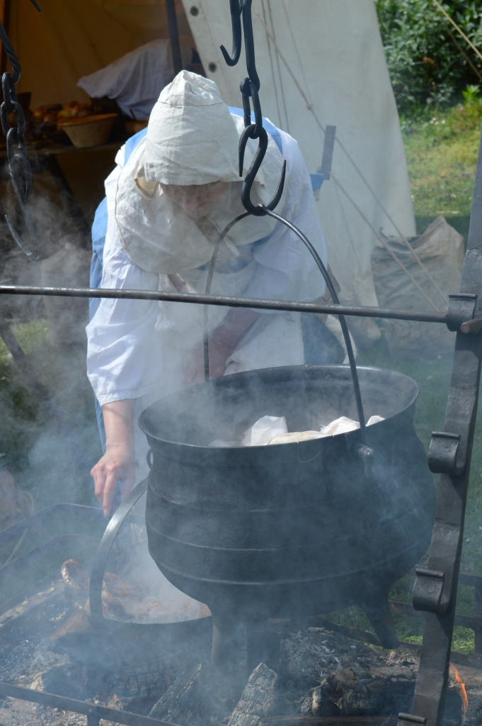 civil war cookery PHOTO Sandra Lawrence