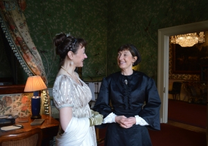 With Ladys Maid of 1890